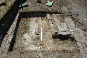 Beddington Park Excavation 2013 trench south end walls