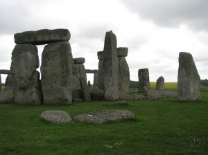 2014 May Weekend Stonehenge Sarsen Semi-circle