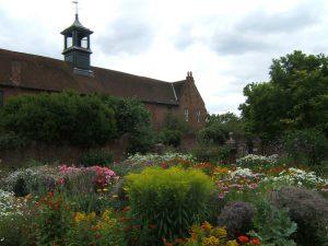 Garden behind Stable Block Osterley Park House