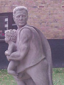 Modern Monument to Capt. Jones of the Mayflower