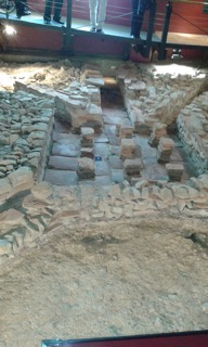Fishbourne Palace Floor Excavation